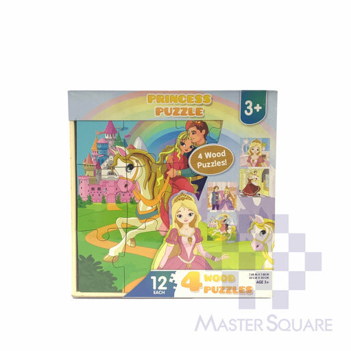 Princess Puzzle Wooden 218144-Master Square