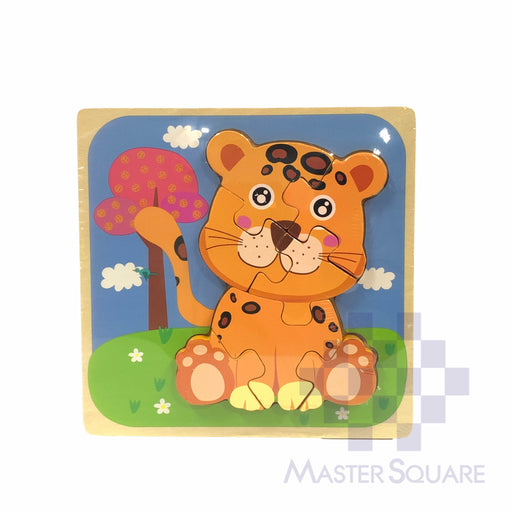 Puzzle Wood Tiger 218156-Master Square
