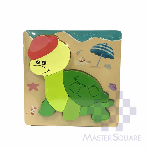 Puzzle Wood Turtle 218156-Master Square