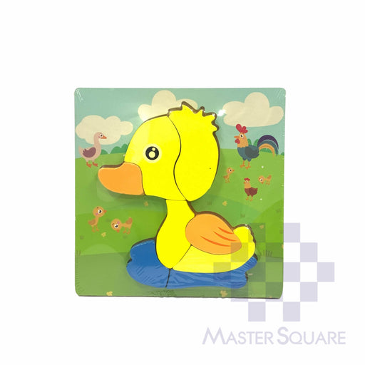 Puzzle Wood Duck 218156-Master Square
