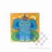 Puzzle Wood Elephant 218156-Master Square