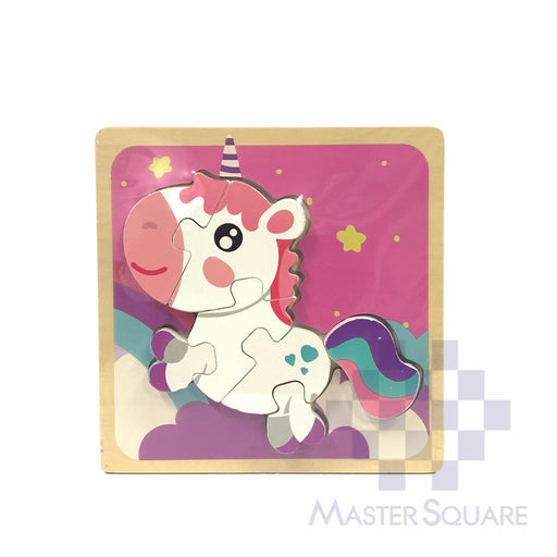 Puzzle Wood Unicorn 218156-Master Square