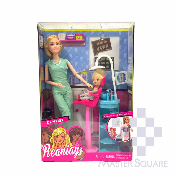 Reaniay Dentist Doll-Master Square