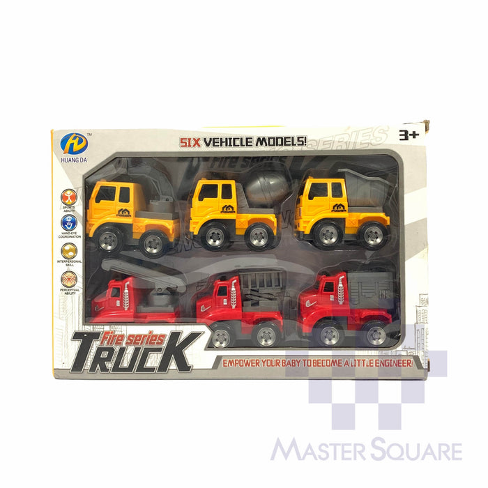 Fire Truck Series 33-Master Square
