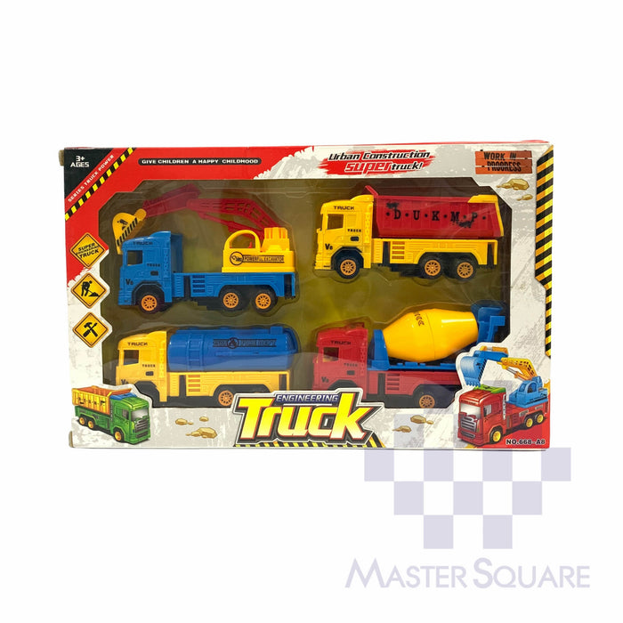 Engineering Truck 668-a8-Master Square