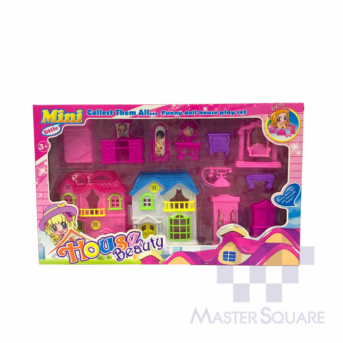 Doll House Beauty 017 Pink-Master Square