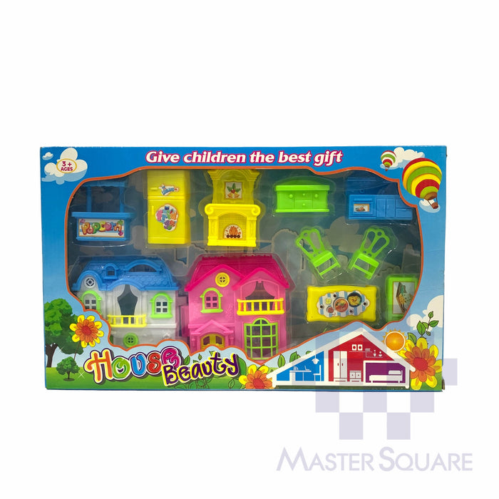 Doll House Beauty 0192 Blue-Master Square