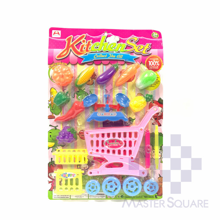 Kitchen Set 6620 Fruits & Vegetables-Master Square