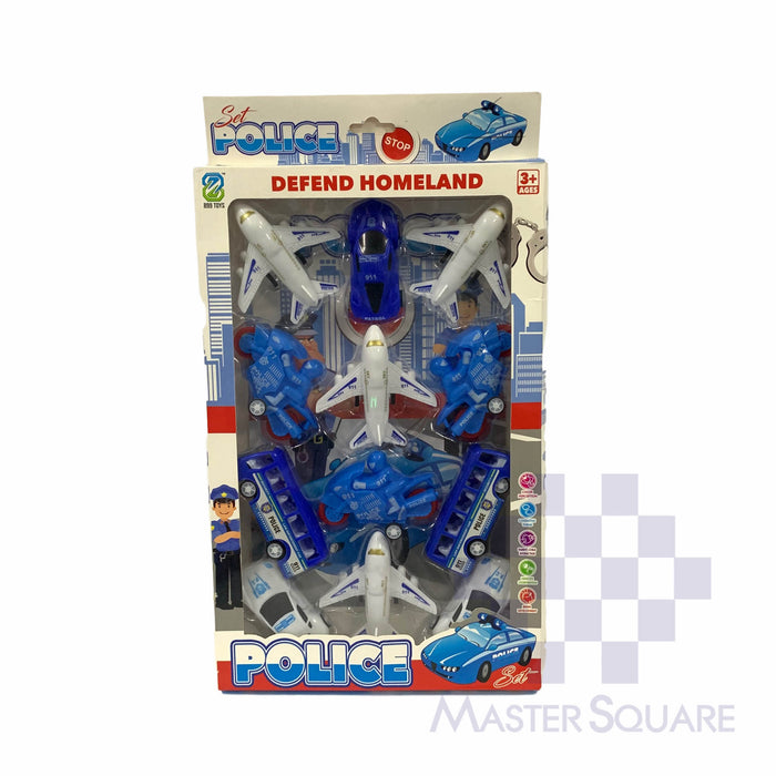 Police Set 899-29 12pcs-Master Square
