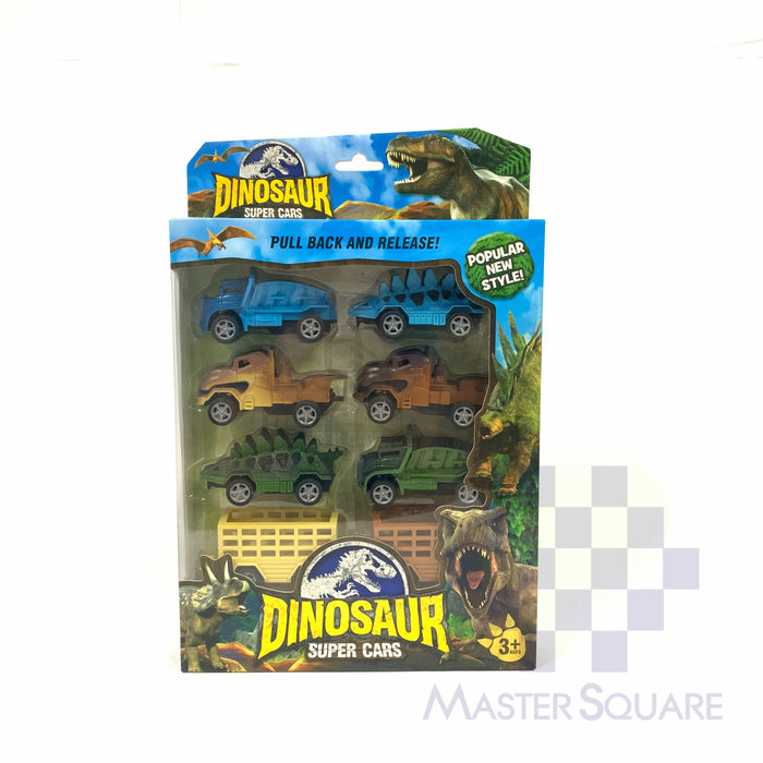 Dinosaur Super Cars 757-32-Master Square