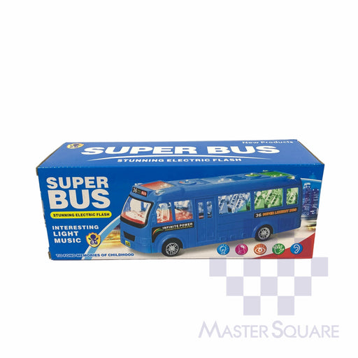 Super Bus Stunning Electric Flash 169-Master Square