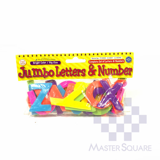 Jumbo Lower Case Letter Plastic 3034s-Master Square