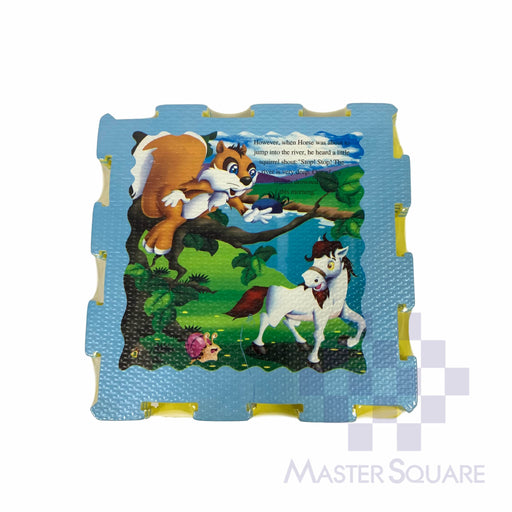 "Puzzle Mat Horse P3030a 12""X12"" 4's-Master Square"