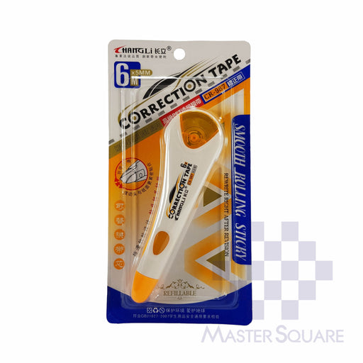 Correction Tape Refillable 5mm X 6m-Master Square