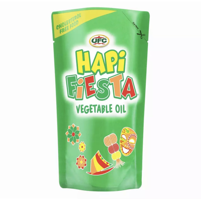 Ufc Hapi Fiesta Vegetable Oil 1l (Pouch)-Master Square