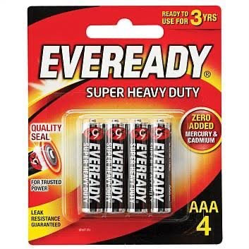 Eveready Black Aaa Bp 4's-Master Square