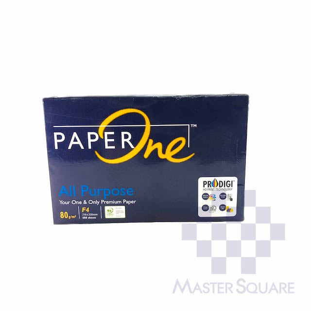 Paperone All Purpose Premium Paper 8.5 X 13 Sub24 80gsm (Max of 2reams/brand per delivery. Please choose another brand if you wish to add more reams to your order)-Master Square