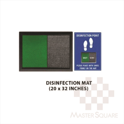 Disinfectant Floor Mat 20x32 Inches-Master Square