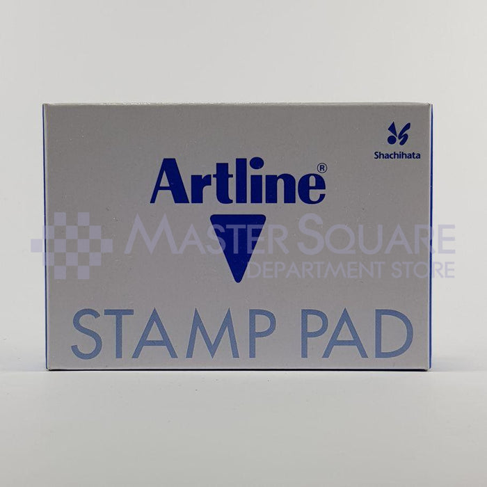 Artline Stamp Pad #00 40x63mm Blue-Master Square