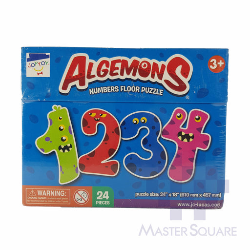Algemons Numbers Floor Puzzle 24 X 18 In-Master Square
