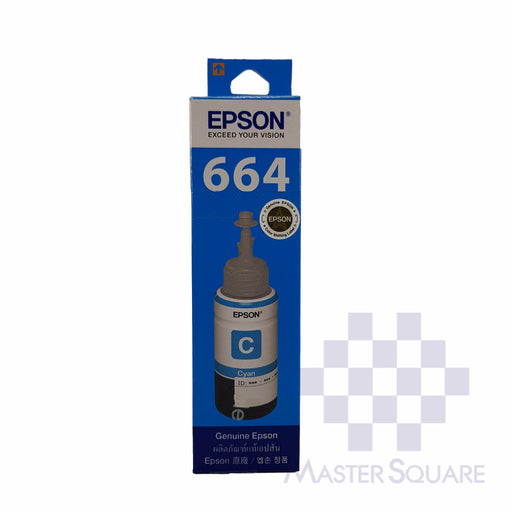 Epson Ink 664 70ml Cyan-Master Square