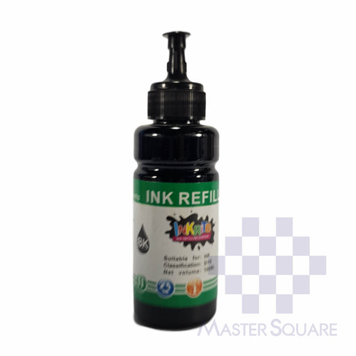 Inkrite Ink Refill 100 Ml Black-Master Square