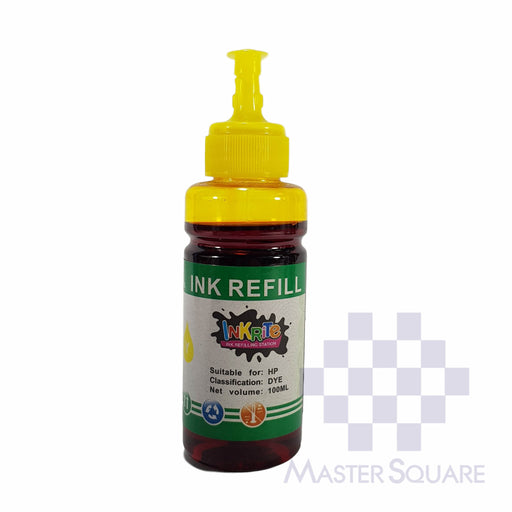 Inkrite Ink Refill 100 Ml Yellow-Master Square