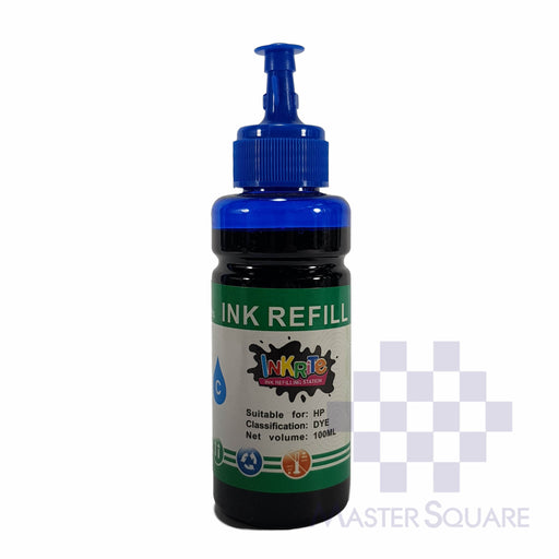 Inkrite Ink Refill 100 Ml Cyan-Master Square