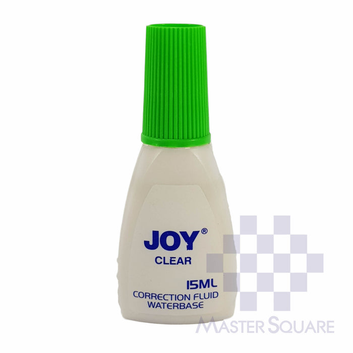 Joy Clear Corretion Fluid 15ml-Master Square