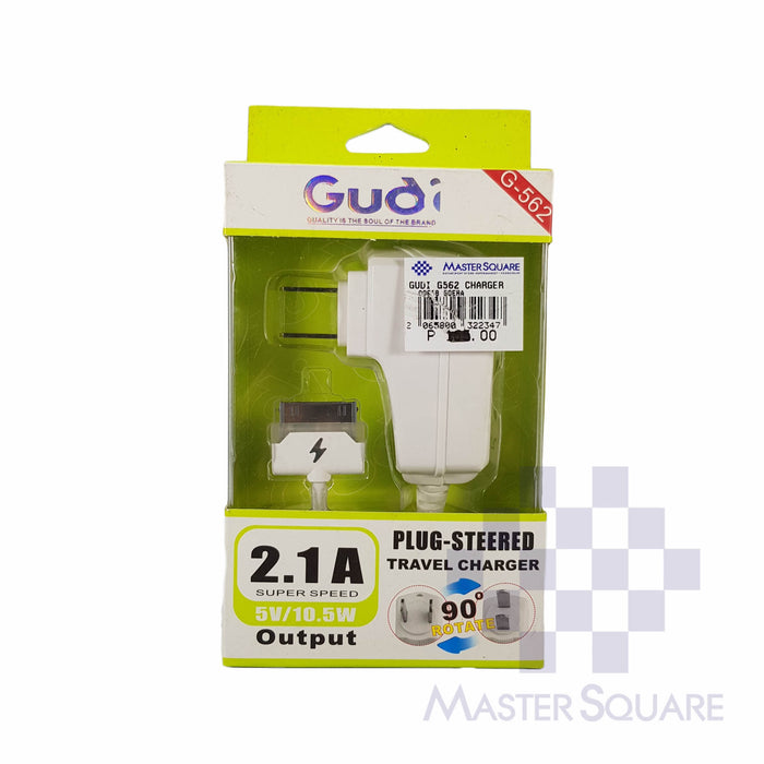 Gudi Travel Charger G562 for iPhone 4-Master Square