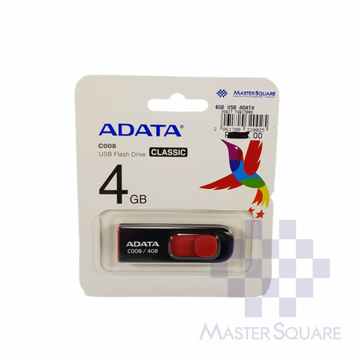 Adata Usb Flash Drive 4gb-Master Square