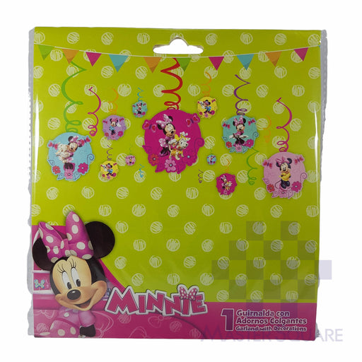 Party Swirl Hanging Decor Minnie-Master Square