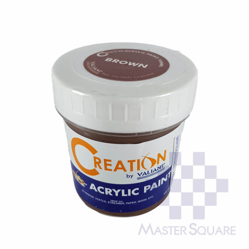 Creation Acrylic Paint 100ml Brown-Master Square
