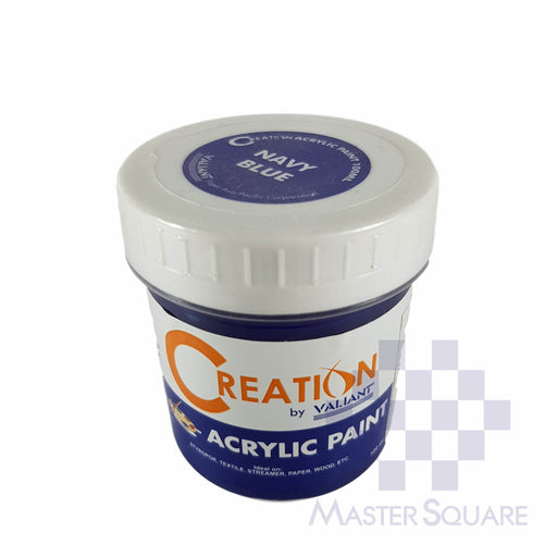 Creation Acrylic Paint 100ml Navy Blue-Master Square