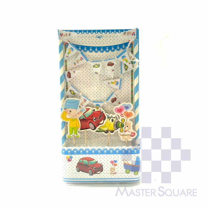 Cake Topper Kit Hp Traspo-Master Square