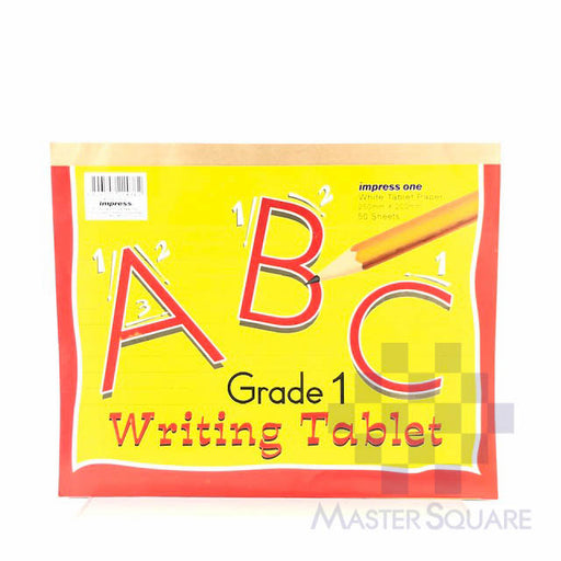 Impress One Writing Tablet 50 Sheets Grade 1-Master Square