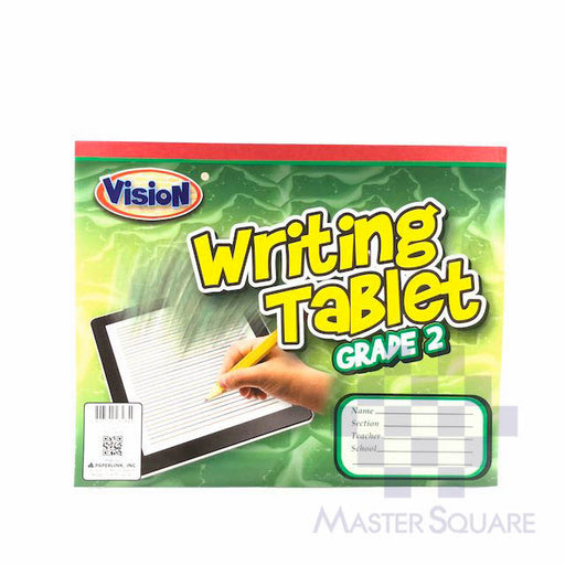 Vision Writing Tablet 80 Leaves Grade 2-Master Square