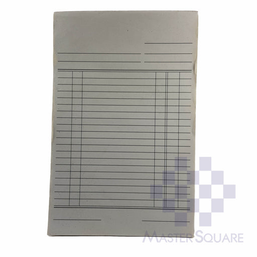 Blank Form Duplicate Approx. 135x210mm-Master Square