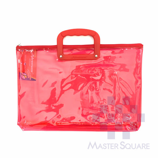 Adventurer Plastic Envelope Transparent With Zipper 15.5 X 10.5 Z-13-Master Square