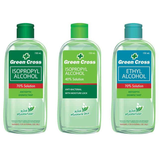 Green Cross Alcohol W/moist 70%-Master Square