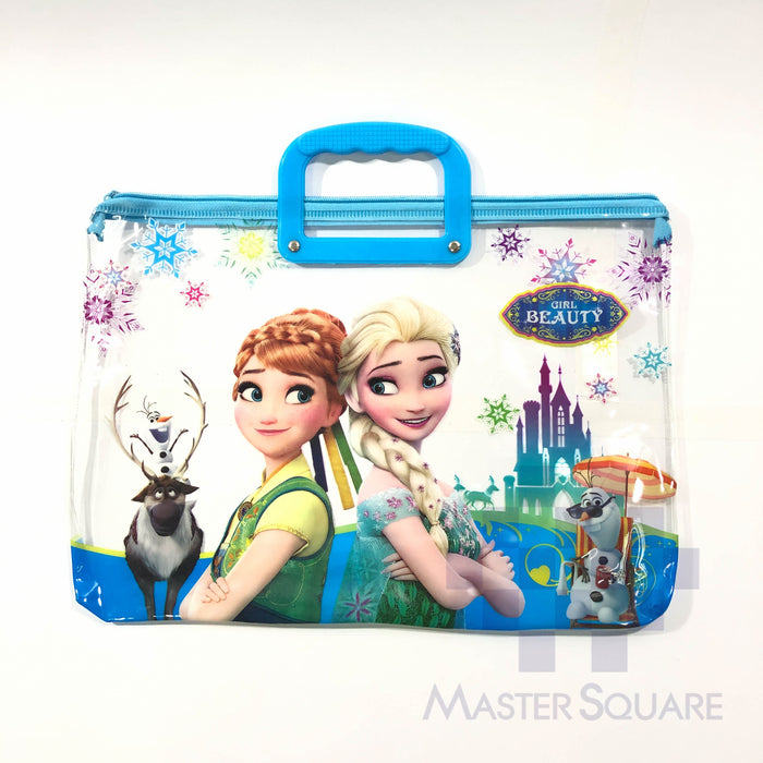 Envelop Bag Plastic With Zipper 15.5 X 11 In Frozen 1-Master Square