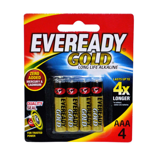 Eveready Gold Aaa 4s-Master Square
