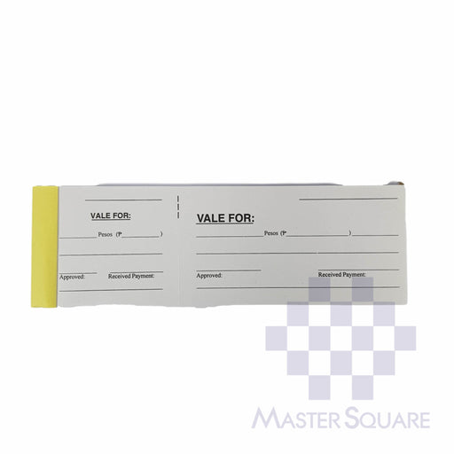 Vale Slip Approx. 200x70mm-Master Square