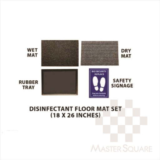 Disinfecting Stomp Mat 18x26 Inches-Master Square
