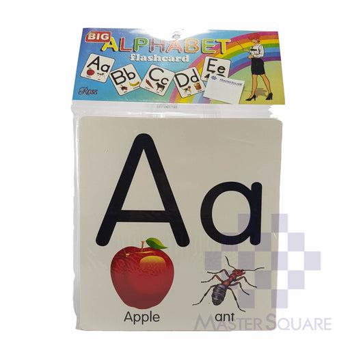 Flash Card Alphabet Jumbo-Master Square