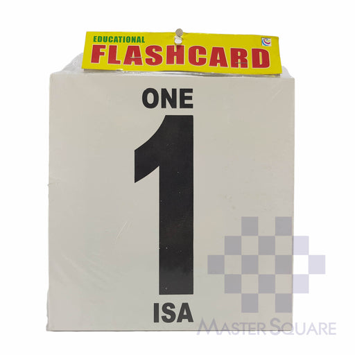 Flash Card Numbers Jumbo-Master Square