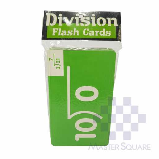Flash Cards Division Colored-Master Square