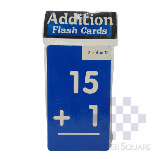 Flash Cards Addition Colored-Master Square