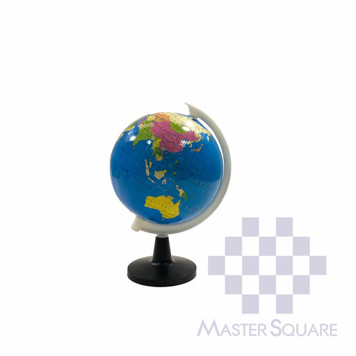 Geographic World Globe With Stand 8.5 Cm Diameter-Master Square