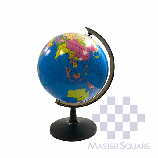 Geographic World Globe With Stand 32 Cm Diameter-Master Square